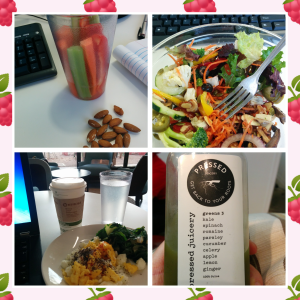 Too many meals at my computer. Terrible habit!
